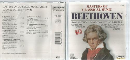 Cd Beethoven Masters Of Classical Music Bonellihq Cx45 E19