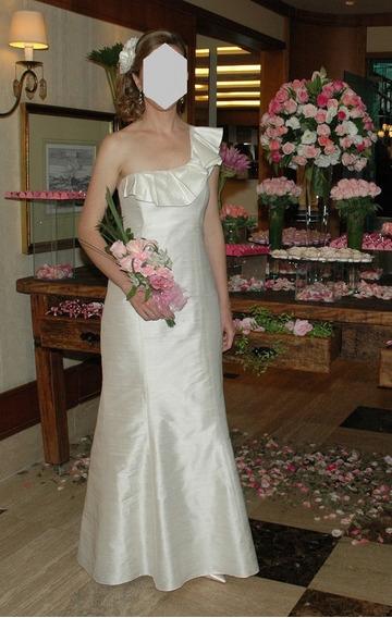 Vestido Noiva Off White Arthur Caliman - Único Uso! Lindo!!!