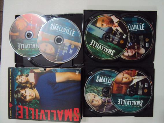 Dvd Smallville - 4ª Temporada - 6 Discos