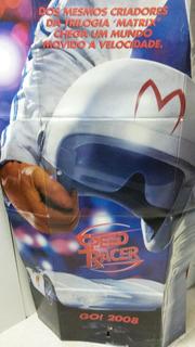 Display De Chão Original Do Filme Speed Racer