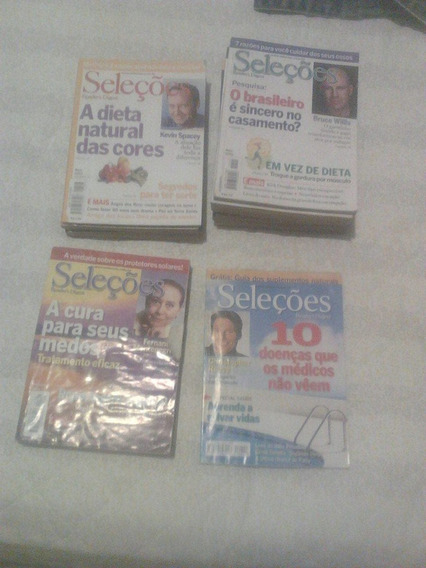 Lote Revistas Seleções Readers Digest 01 02 03 04