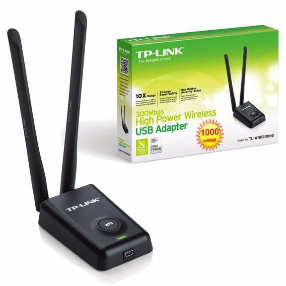 Placa De Red Wifi Usb Tp-link Tl-wn8200nd Alta Potencia