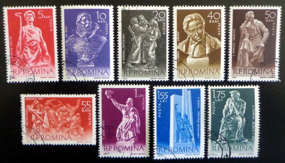 Rumania Arte, Serie Sc. 1403-11 Año 1961 Usada L7467
