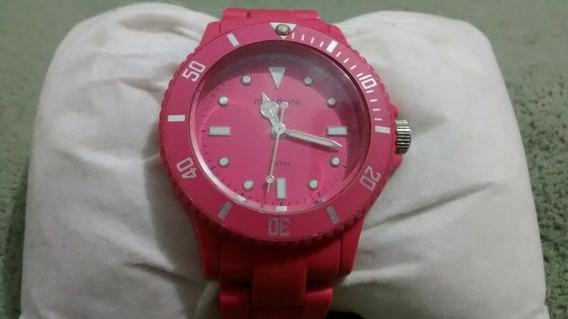 Relógio Mondaine Analógico Rosa