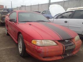 Mustang Gt 1997 5.0 Aut. Partes Chocado Yonke Solo En Partes