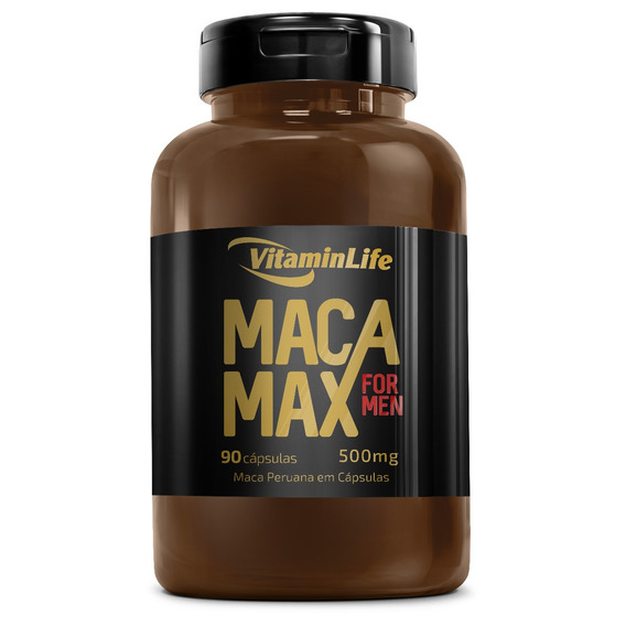 Macaperuana Max For Men - 90 Caps - Vitamin Life