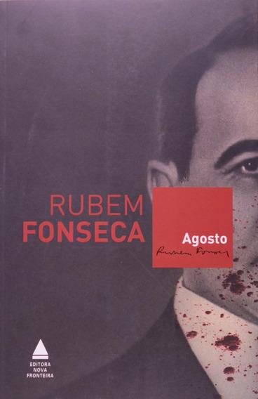 Livro Agosto Rubem Fonseca Literatura Romance Envio Imediato