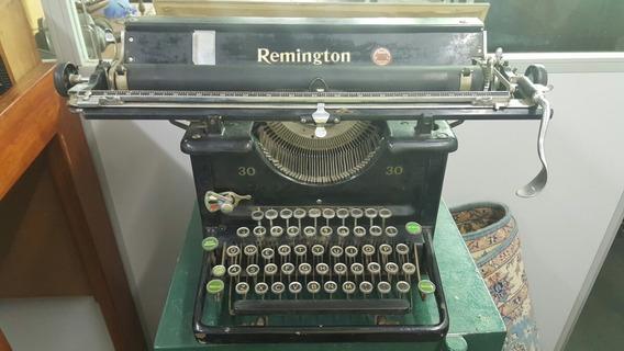 Maquina De Escrever Antiga Remington 30