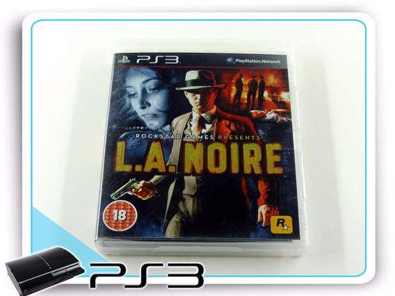 Ps3 La Noire Original Playstation 3