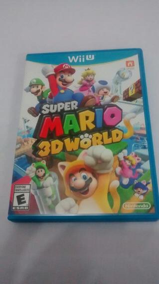 Super Mario 3d World (americano, Completo) Nintendo Wii U