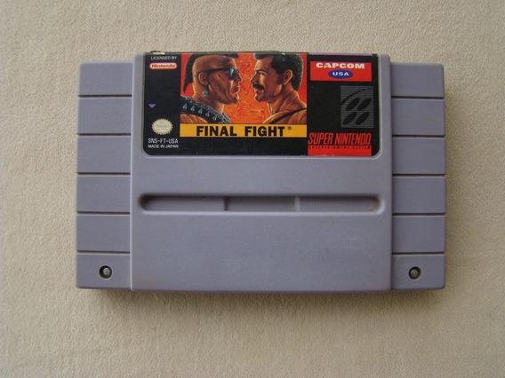 Final Fight - Snes / Super Nintendo - Original