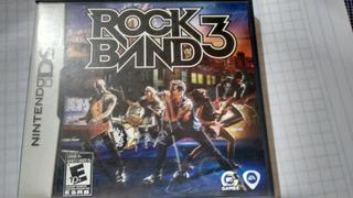 Rock Band 3 Para Nintendo Ds