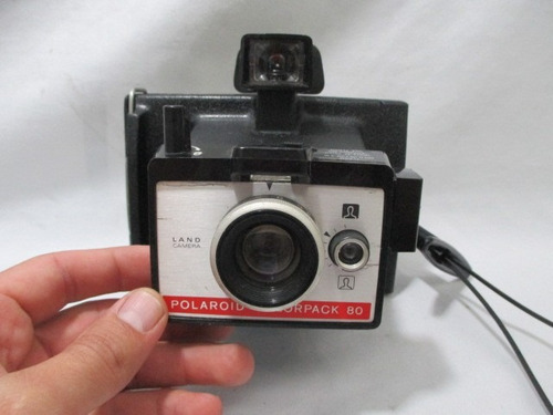 Antiga Camera Polaroid Land Colorpack 80 Raridade
