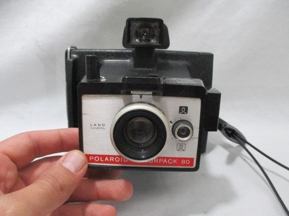 Antiga Camera Polaroid Land Colorpack 80 Raridade
