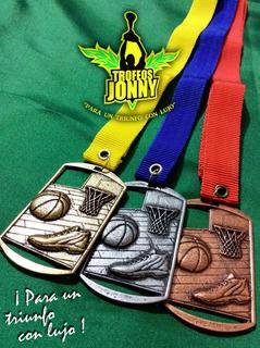 Medallas De Basquetbol 10