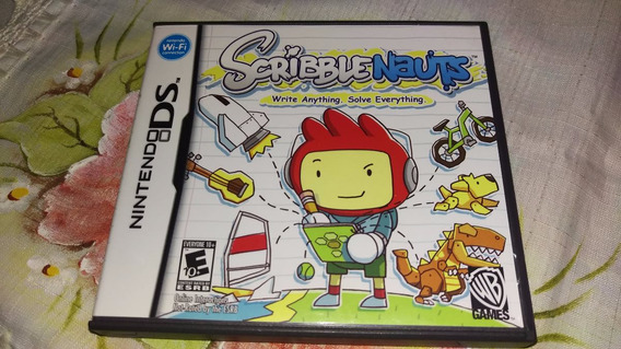 Scribble Nauts Write Anything Completo Original Nintendo Ds
