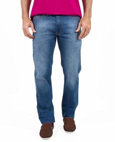Calça Jeans Básica 5 Pocket Com Elastano Jcanedo