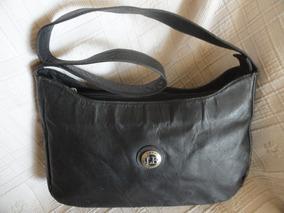Bolsa Look Bag De Couro Legitimo 2 Compartimentos