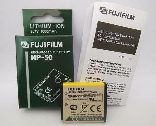 Bateria Fujifilm Fuji Np-50 Original X10 X20 Xf1 F900exr