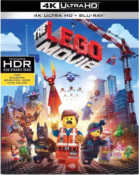 The Lego Movie 4k Ultra Hd + Blu-ray + Dig Hd La Pelicula