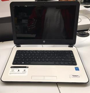 Notebook Hewlett Packard 14 Core I3 4 G Blanca En Stock Ya!!
