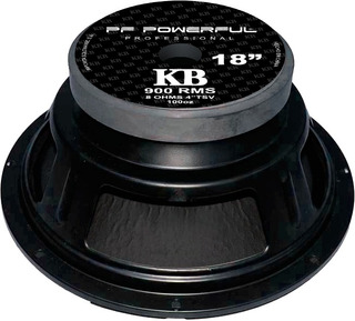 Parlante 18 Grave Profesional Audio 900w Kb-18 Pf Powerful