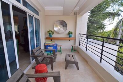Apartamento De Venta Amueblado,la Trinitaria,santiago