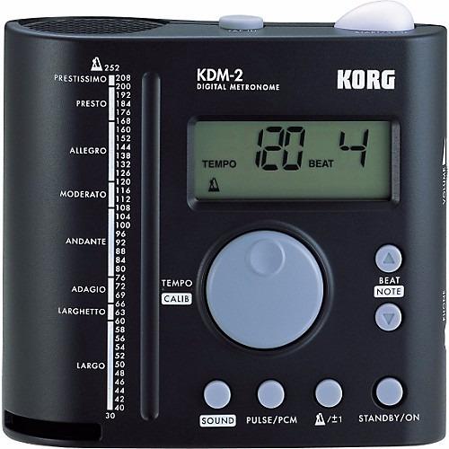 Metronomo Digital Korg Com Amplificacao - Kdm-2