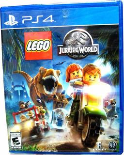 Lego Jurassic World Playstation 4 Ps4- Minijuegosnet