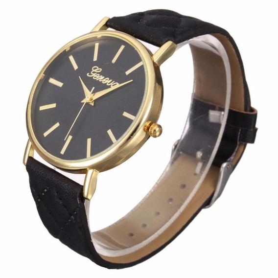 Relógio Feminino Preto Barato Frete Grátis E 12x No Cartão