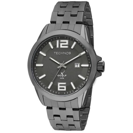 Relógio Masculino Technos Fume Casual 2115kol/k4p