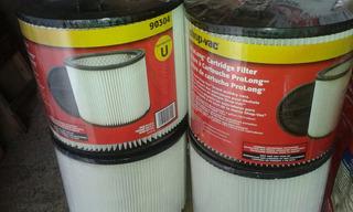 Paquete Filtro Cartucho Shop Vac 5, 6, 10, 12, 16, 18 Gal