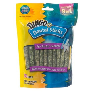 Dingo Dental Sticks Para Tartar Control (sin Ingredientes De