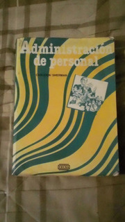 Libro Administración De Personal, Chruden/sherman.