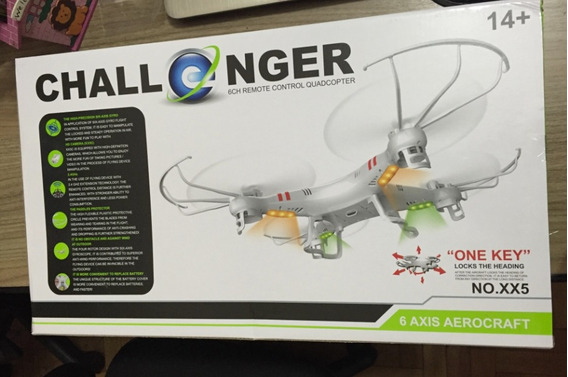 Drone Explore Zein - Qe Hélices Reservas, 4 Canais Radio C