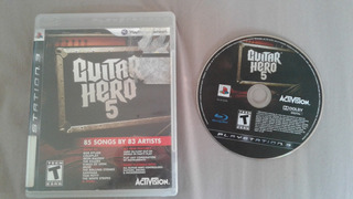 Juego Guitar Hero 5 Ps3