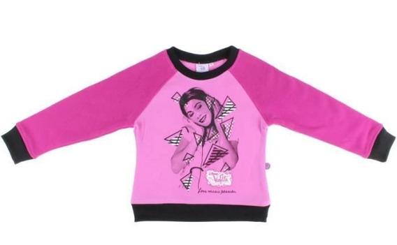 Moletom Violetta Disney Oficial Original Love,music,passion