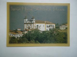 Cartão Postal Mariana Mg - Igreja Nossa Senhora Do Rosario