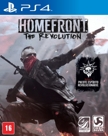 Homefront The Revolution Ps4 Mídía Física