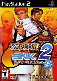 Capcom Vc Snk 2 Jogos Ps2 Playstation 2