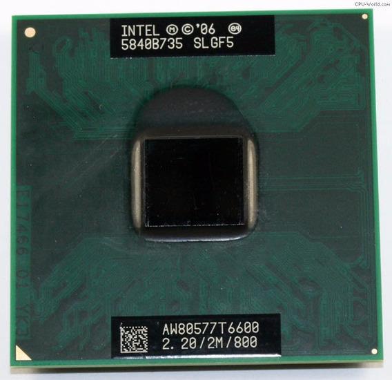 Processador Pentium Dual Core 2.2/2m/800 Aw80577t6600
