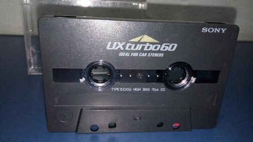 Fita K7 Cassete Sony Ux Turbo 60