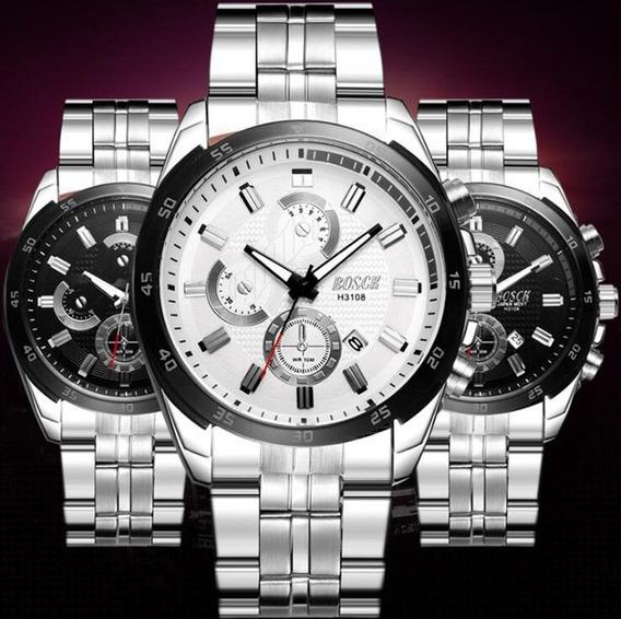 Bosck Relógios De Luxo Da Marca Dos Homens Do Esporte