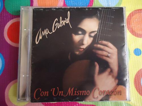 Ana Gabriel Cd Con Un Mismo Corazon 1997 Mercado Libre