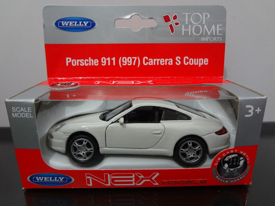 Miniatura Do Porsche 911 Carrea Coupe Escala 1:32