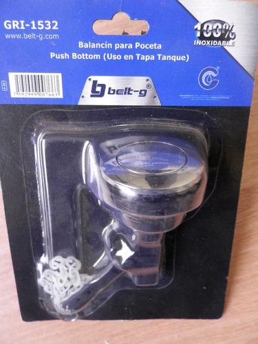 Balancin Para Poceta Push Bottom Belt G Para Tapa De Tanque