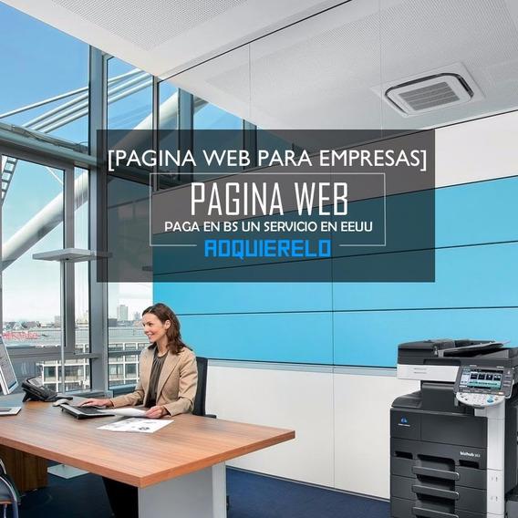 Pagina Web Basica Mas Hosting Y Dominio