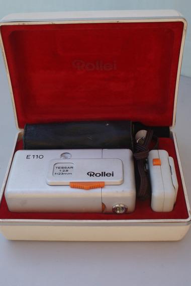 Rollei E110 Tessar 1:2.8 / 23mm Coleção