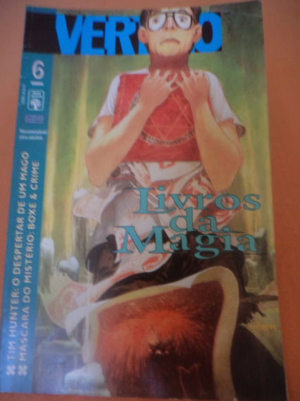 Hq - Vertigo Nº 6 ( Livros Da Magia + Sandman)