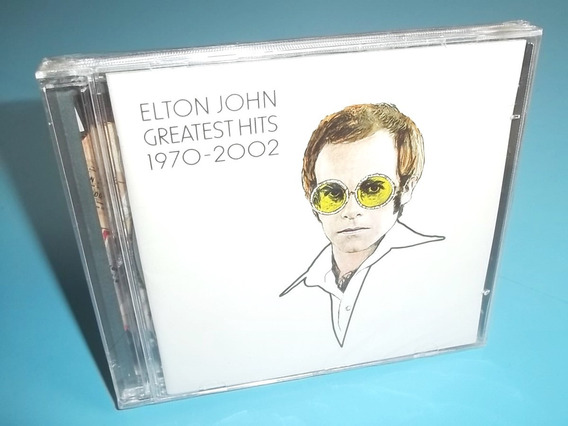 Cd Elton John - Greatest Hits 1970 - 2002 (duplo) 34 Músicas